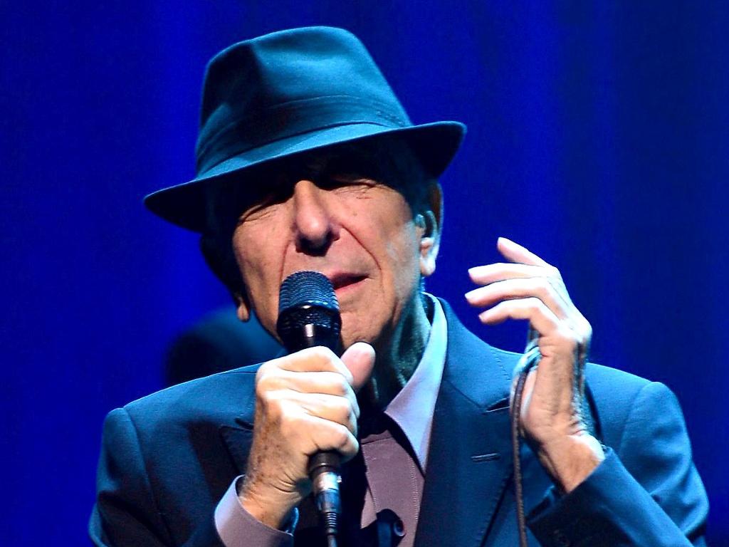 First listen leonard cohen almost like the blues for Leonard cohen music videos