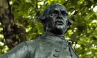 John Wilkes statue in Fetter Lane