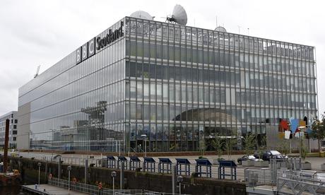 BBC Scotland's complex at Pacific Quay, Glasgow.