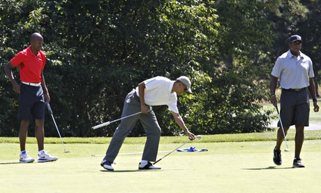 Barack Obama, Ahmad Rashad, Ray Allen