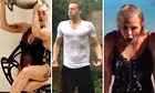 Lady Gaga, Tom Hiddleston and Britney Spears taking the ice bucket challenge
