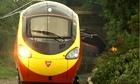 A Pendolino train