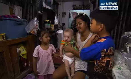 Baby with Down's syndrome left in Thailand by Australian parents Baby-Gammy-008