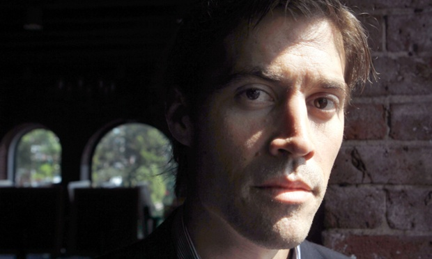 US journalist James Foley poses for a photo during an interview. Islamic State militants released a video purporting to show the killing of Foley who went missing in 2012 in northern Syria while on assignment for Agence France-Press and the Boston-based media company GlobalPost.