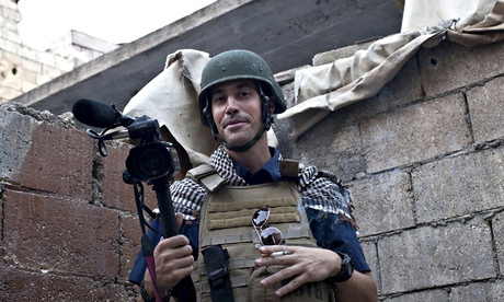 James Foley in Syria in 2012