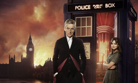 London calling… The Doctor (Peter Capaldi) and Clara (Jenna Coleman)