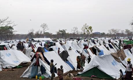 refugee camp in Ethiopia's Gambela region