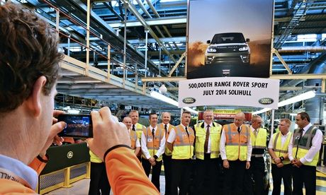 the 500,000th Range Rover Sport