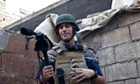 James Foley in Syria in 2012