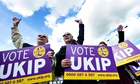 Ukip voters celebrate local election results