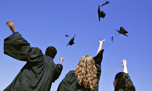 Throwing Mortarboards on Graduation Day