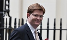 Danny Alexander at Downing Street