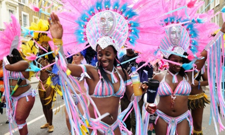 performers at Notting Hill carnival