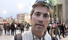 James Foley seen in a video still in 2011