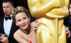 Jennifer Lawrence at the Oscars in 2014