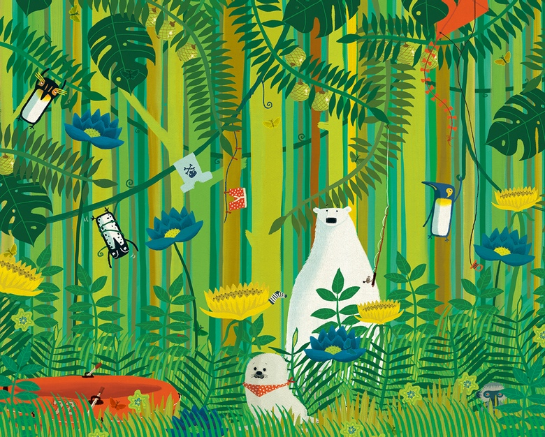 Can you spot 10 butterflies hidden among the foliage (and the cheeky ...