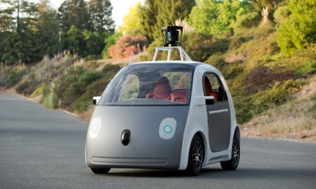 Google's prototype self-driving car will have to have a steering wheel, according to the California DMV.