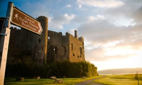 Laughrne Castle.