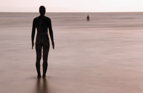 Another Place created by the artist Antony Gormley in Crosby.
