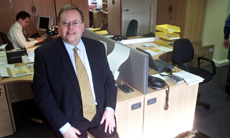 Lord Chris Rennard when he was campaign director for the Liberal Democrats. Photograph: Martin Argle