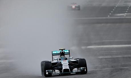 Nico Rosberg edges out Lewis Hamilton for Belgian Grand Prix pole position