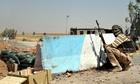 A Iraqi Turkmen Shia fighter holds a position in Amerli