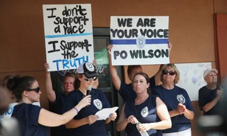 Darren Wilson protest