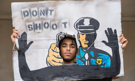 It's one thing to have to ask this of the police. It's another to ask it of your brother. Photograph: Steve Eberhardt/Demotix/Corbis