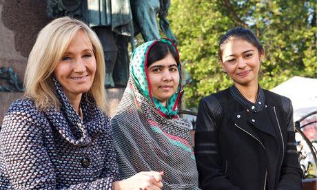 JK Rowling and Malala Yousafzai