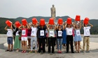 Henan protest against Ice Bucket Challenge