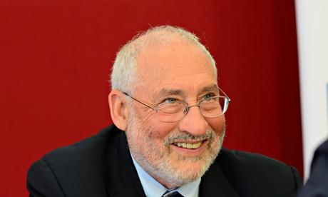 Prof Joseph Stiglitz in Edinburgh