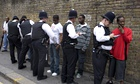 Notting Hill carnival stop and search