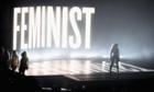 Beyoncé at the VMAs.