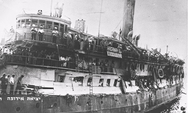 Drama about Holocaust survivors' illegal voyage to Palestine sets sail | Film | The Guardian