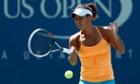Heather Watson US Open practice