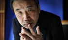 Japanese writer Haruki Murakami