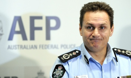 Australian Federal Police Commissioner Tony Negus