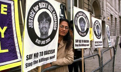 The police were spying on me rather than looking for Rickys killers  Sukhdev Reel