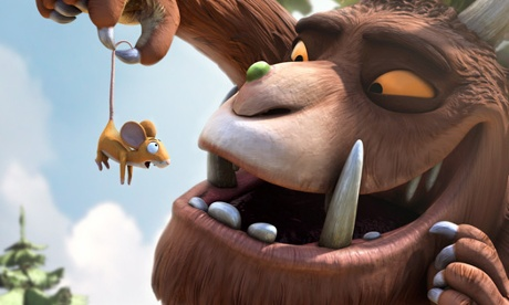 The Gruffalo (and Mouse) star in the new Gruffalo Games iOS app.