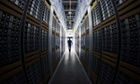 A server room at the new Facebook data centre, its first outside the US, in Lulea, in Swedish Lapland.
