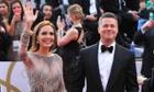 Jolie and Pitt at the 2014 Oscars