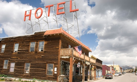 The Hand Hotel in Fairplay, Colorado.