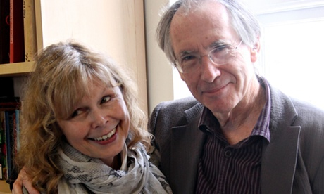 Mandatory Credit: Photo by Richard Gardner/REX (1439901cp) Ian McEwan with his wife, the journalist