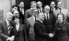 Various ministers gathered at Chequers, the British prime minister's country residence, for Russian President Mikhail Gorbachev's visit.