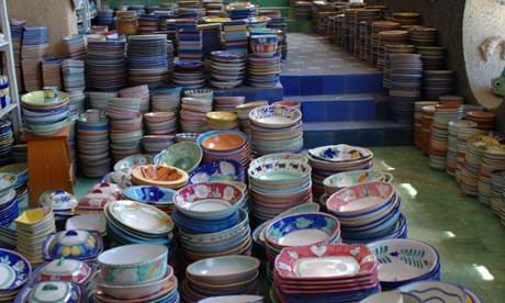 Ceramic factory, Vietri sul Mare.