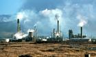 Stanlow oil refinery Ellesmere Port Cheshire UK