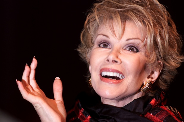 Joan Rivers appearing at the Festival Theatre, Edinburgh Festival Fringe 24/08/2001