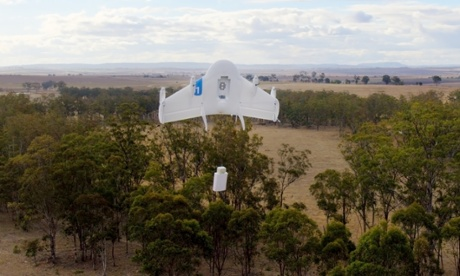 Google joins Amazon in testing home delivery drones