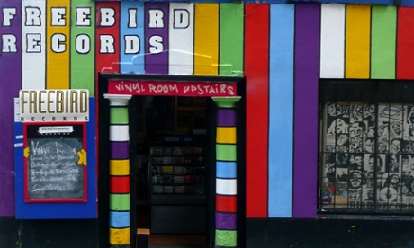 Freebird Records, Dublin, Ireland