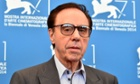 Peter Bogdanovich arrives at the Venice premiere of She's Funny Like That